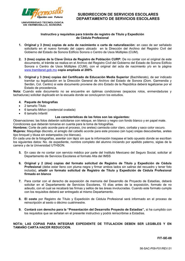 56-SAC-P09-F01/Rev.00 - sicad - Gobierno del Estado de Sonora