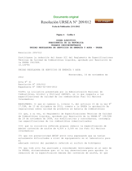 Resolución URSEA N° 209/012 Documento original
