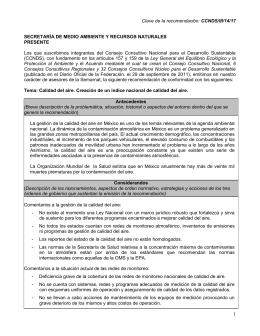 CCNDS/III/14/17  Los  que  suscribimos  integrantes  del ... SECRETARÍA DE MEDIO AMBIENTE Y RECURSOS NATURALES