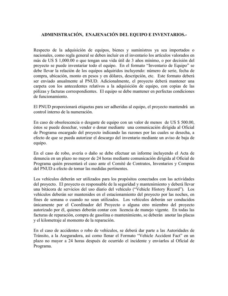 formato de informe de inventario - Selo.l-ink.co