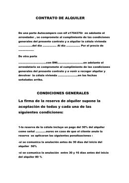 Contrato De Alquiler De Vehiculo Tramite En Peru