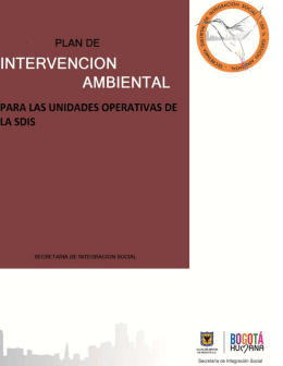 Plan de Intervención Ambiental