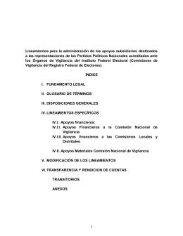 Montos por partido político para el ejercicio presupuestal 2013…