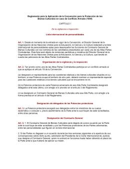 49 Reglamento para la aplicación de la convención para la