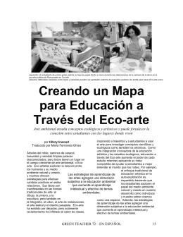 Creando un Mapa para (Eco-Arte)
