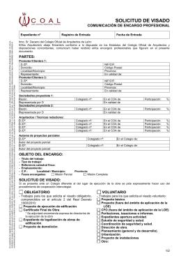 Modelo contrato estudios de seguridad y salud - Colegio arquitectos leon ...