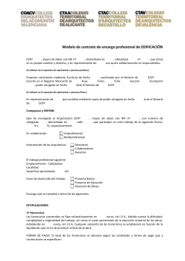 Certificado descriptivo de obra y acreditativo