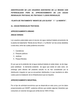 IDENTIFICACIÓN DE LOS USUARIOS EXISTENTES EN LA