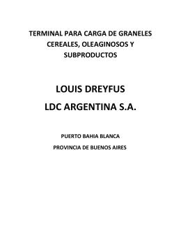 LOUIS DREYFUS (Puerto Galvan)