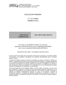 EDUCACIÓN ARTÍSTICA - University of Dayton Publishing