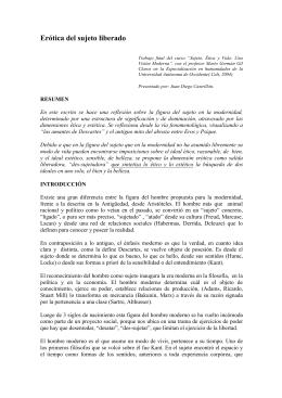 ÉTICA Y ESTÉTICA DEL ACTOR SOCIAL