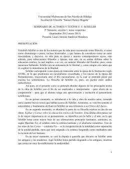 S.A.T. Schiller - Universidad Michoacana de San Nicolás de Hidalgo