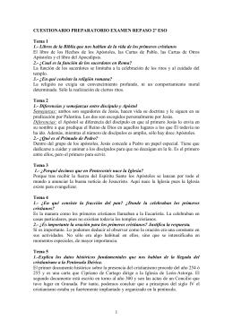 CUESTIONARIO PREPARATORIO EXAMEN REPASO 2º ESO