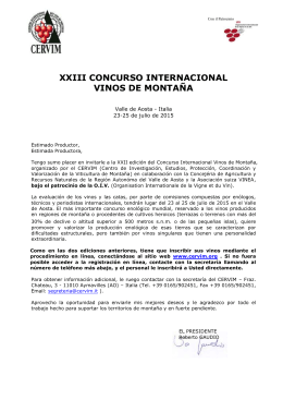 FIRST INTERNATIONAL CONGRESS ON