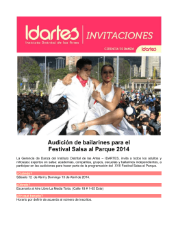 INVITACION SALSA AL PARQUE Final