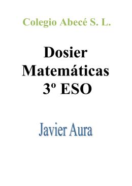 tema 6: expresiones algebraicas y radicales