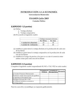 Examen Julio 2003
