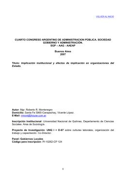 Montenegro, Roberto - Asociación de Administradores
