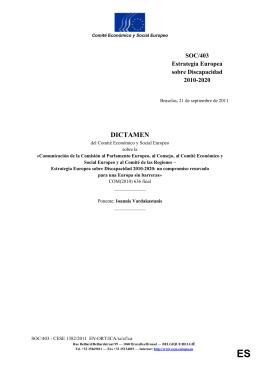 3. Evaluación de la Estrategia Europea sobre
