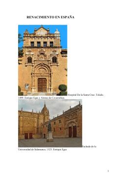 08B. Renacimiento español. Arquitectura. El Greco [DOC 14,7 MB]