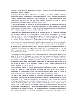Documento del PJ Nacional