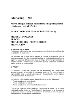 Descargar Archivo Marketing Mix