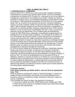 2.2 Aluminio Perú - Direccion Estratégica