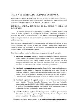 El sistema interurbano - IES Gran Capitán de Córdoba
