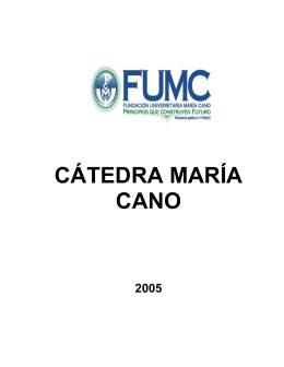 Los Valores - Fundación Universitaria María Cano