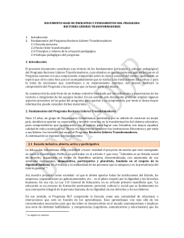 Documento Base de principios y fundamentos de RLT 21 OCT 2014