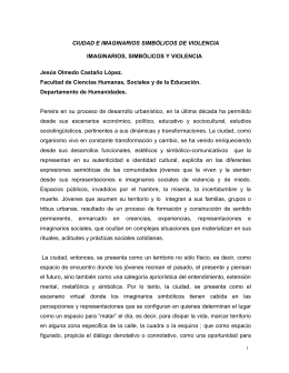 Ciudad e imaginarios.. - Universidad Católica de Pereira