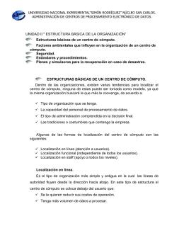 "UNIVERSIDAD NACIONAL EXPERIMENTAL""SIMÓN RODRÍGUEZ"