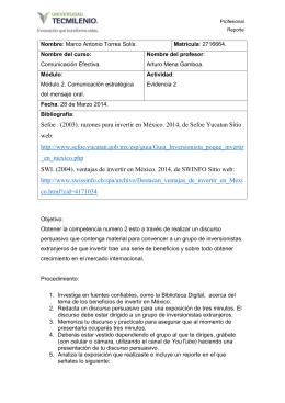 Profesional Reporte Nombre: Marco Antonio Torres Solís. Matrícula