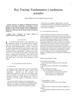 A. Ray-Tracing recursivo.