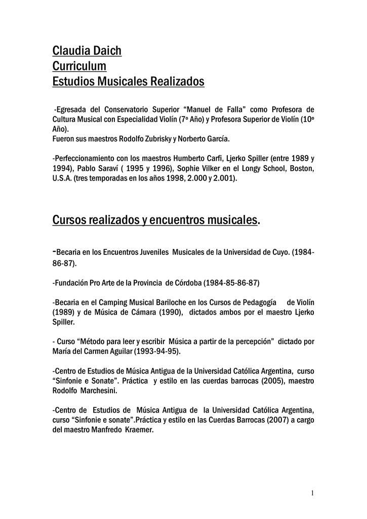 Famoso Curriculum Vitae Para Un Maestro De La Guardería Colección de ...