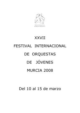 Orquesta de Jóvenes de la Región de Murcia