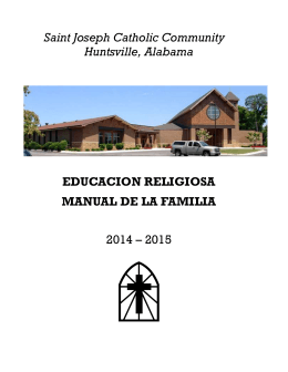 educacion religiosa - Saint Joseph Catholic Community
