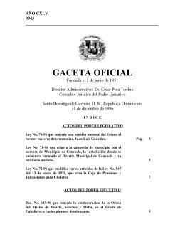9943g - Cámara de Diputados de la República Dominicana