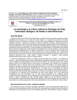 Ana Del Sarto - Red de Bibliotecas Virtuales