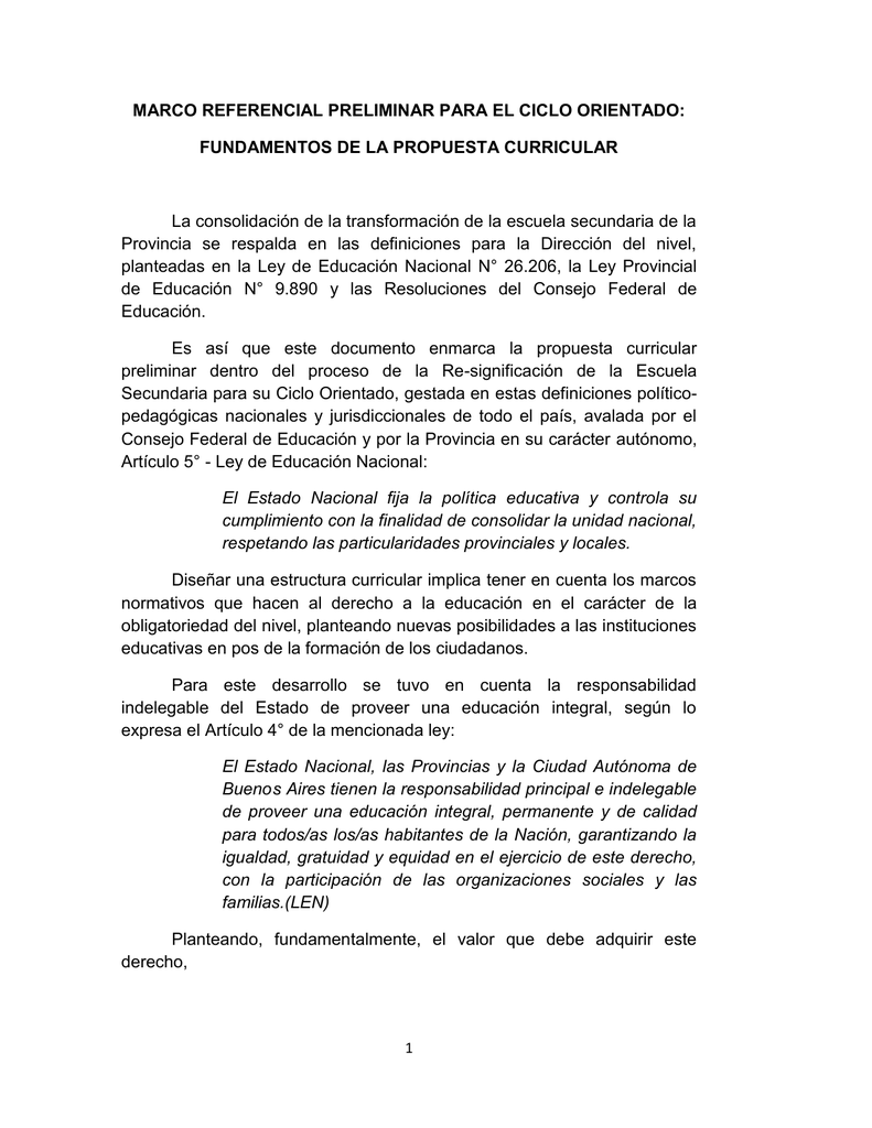 Dirección De Educación Secundaria Comisión Curricular