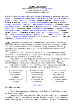 Documento Word de MÉTRICA