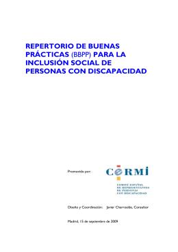 INFORMACIÓN PREVIA SOBRE EL REPERTORIO DE BB PP