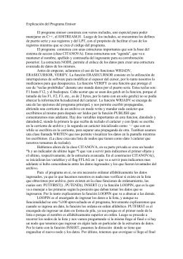 Explicación del Programa Emisor - UTN FRBA