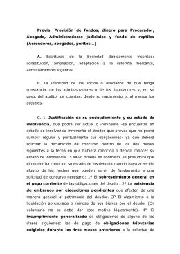 ALGUNAS COSAS NECESARIAS PARA LA PREPARACION DEL