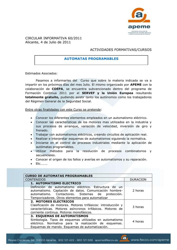 Circular Informativa Nº 60 2011