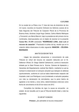 C-37 - Defensa Pública de la Provincia de Buenos Aires