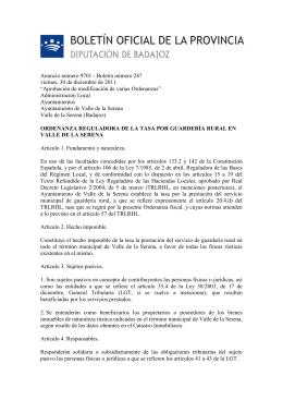 Anuncio número 9701 - Boletín número 247