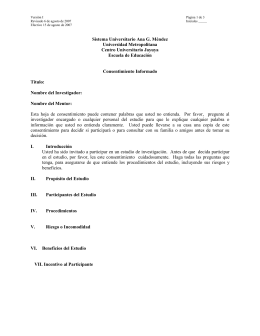 Version - Sistema Universitario Ana G. Méndez