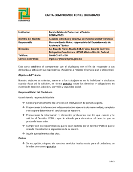 Asesoría individual y colectiva en materia laboral y sindical