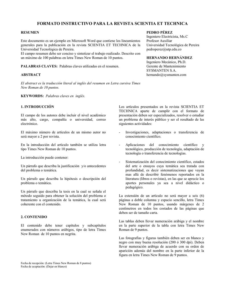 Perfecto Plantilla De Word De Informe De Laboratorio Colección ...